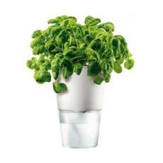Горшок для растений с функцией самополива, 11 см, белый