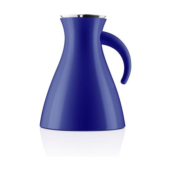 Термокувшин  Vacuum, 1 л, низкий, синий