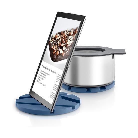 Подставка для посуды-планшета Smartmat, лунно-голубая