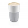 Чашки для латте, 360 мл, 2 шт, серые