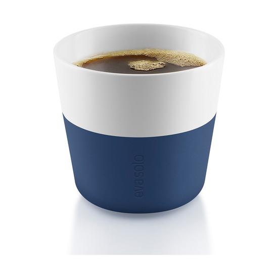 Чашки для лунго, 230 мл, 2 шт, тёмно-синие