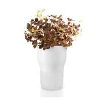 Горшок для растений с функцией самополива, 9 см, белый