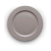 Тарелка круглая Legio Nova, 28 см, серая