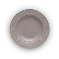 Тарелка суповая Legio Nova, 25 см, серая