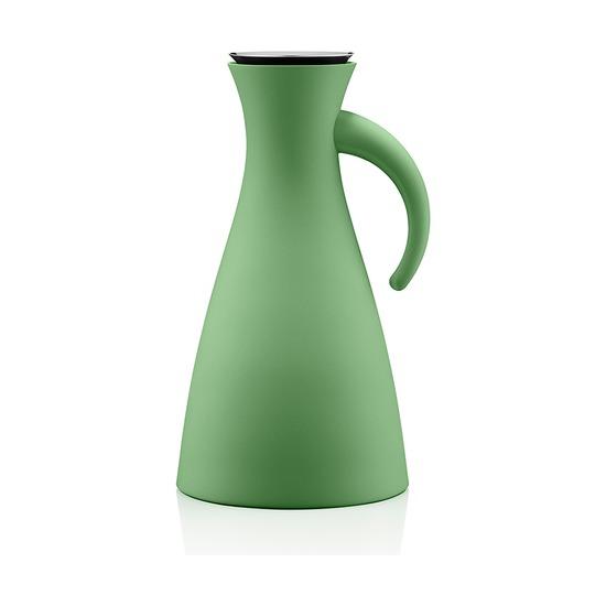 Термокувшин Vacuum, 1 л, высокий, светло-зелёный