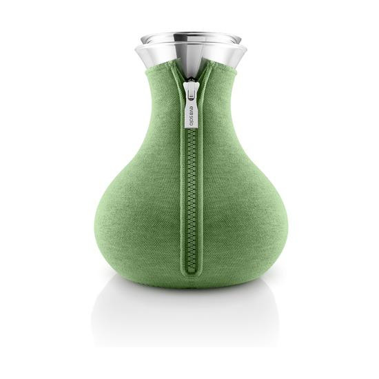 Чайник заварочный Tea Maker в чехле, 1 л, светло-зелёный