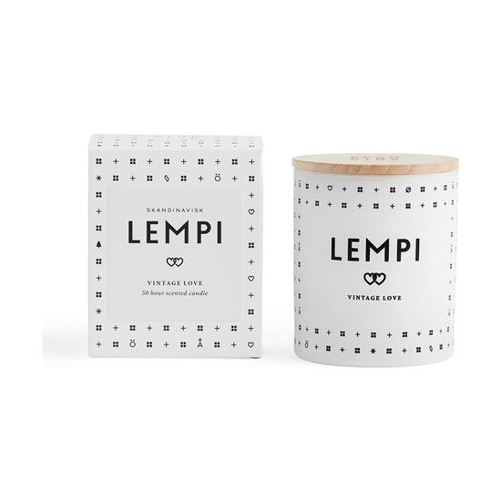 Свеча ароматическая Skandinavisk Lempi с крышкой, 190 г