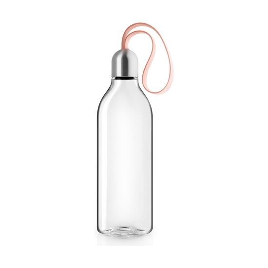 Бутылка плоская, 500 мл, персиковая