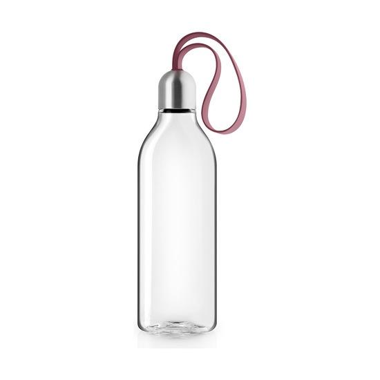 Бутылка плоская, 500 мл, гранатовая
