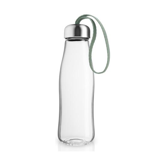 Бутылка стеклянная, 500 мл, светло-зеленая
