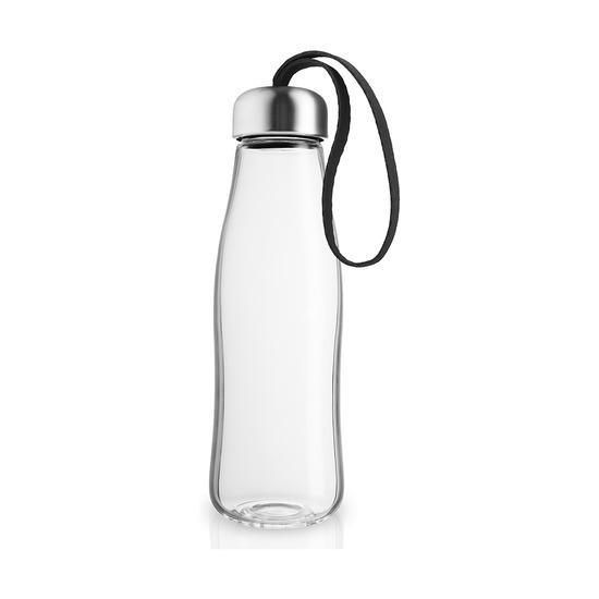 Бутылка стеклянная, 500 мл, черная