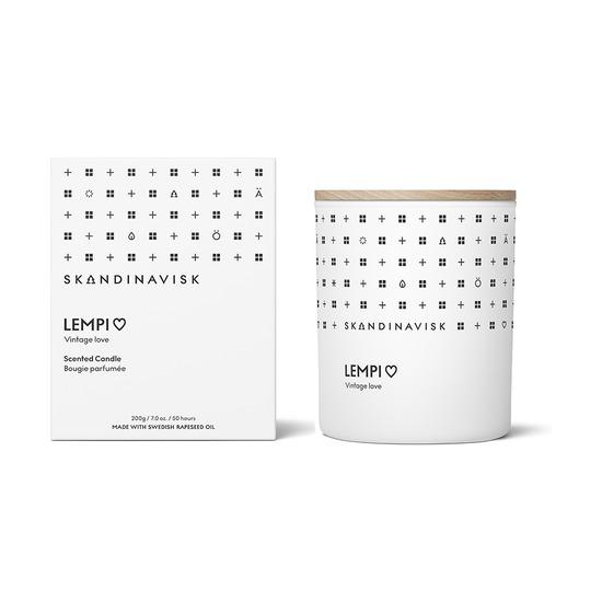 Свеча ароматическая Skandinavisk Lempi с крышкой, 200 г