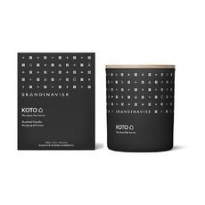 Свеча ароматическая Skandinavisk Koto с крышкой, 200 г