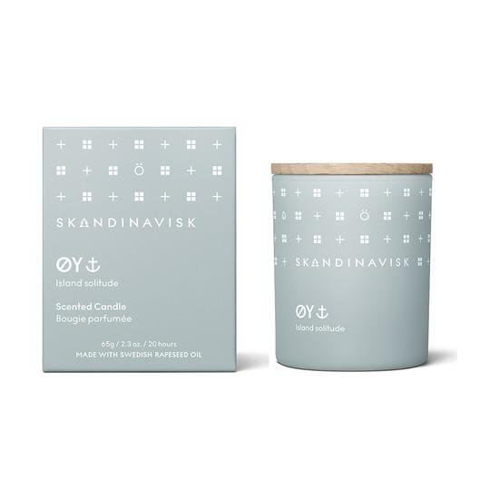 Свеча ароматическая Skandinavisk Oy с крышкой, 65 г